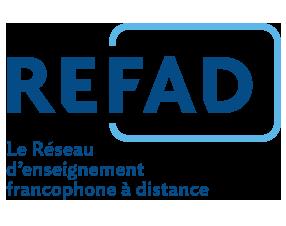 Logo du REFAD - Réseau d'enseignement francophone à distance